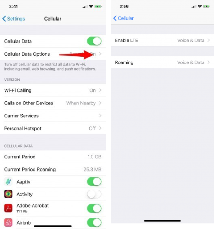 How to check if an iPhone is unlocked via Settings